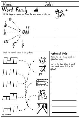 all word family worksheets photos  getadating &