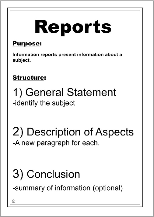 report writing english This resource is an updated version of muriel harris's handbook report formats: a self-instruction module on writing skills for engineers, written in 1981 the.