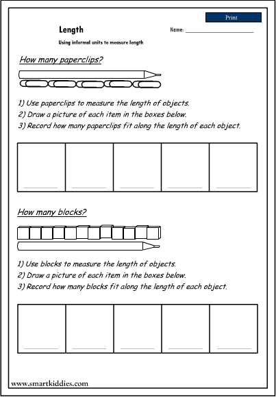 Download Kids Math-Measurement Worksheets iPad iOS Images - Frompo
