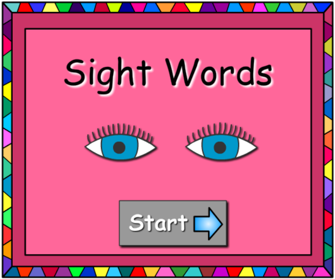 interactive online games to learn dolch words